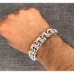Thick Chino Link Bracelet