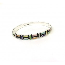 Multicolor Bangle Bracelet1