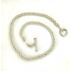 Shinny Braided Rings Necklace2