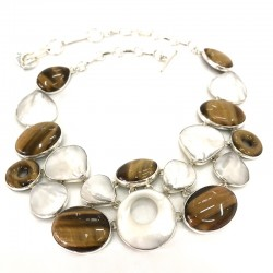 Exquisite Tiger Eye Necklace