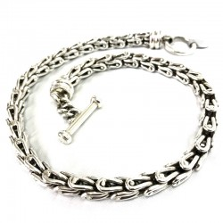 Double Bend Links Necklace