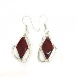 Stylish Red Coral Dangle...